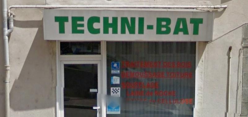 devanture magasin technibat