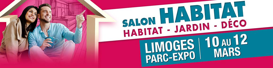 bannière salon habitat limoges 10 au 12 mars